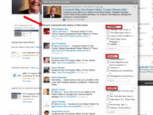 It's easy to see who else has shared a LinkedIn Today article.